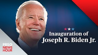 WATCH LIVE: The inauguration of Joe Biden and Kamala Harris - PBS NewsHour special coverage