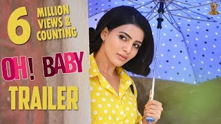 Theatrical trailer of Oh Baby ft Samantha, Naga Shaurya..