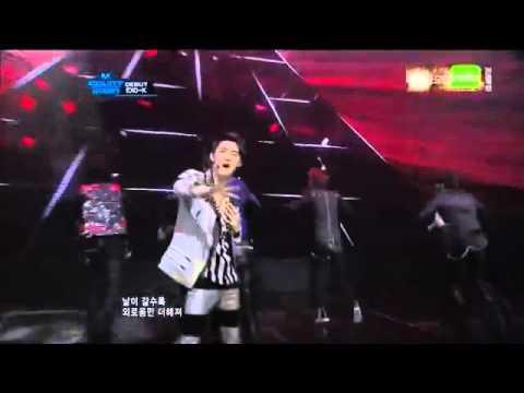 [120412] EXO-K - MAMA @ M! Countdown