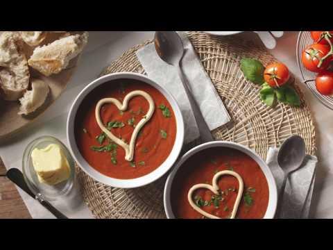 Suppe mit extra viel Liebe und Arla Buko Frischkäsecreme