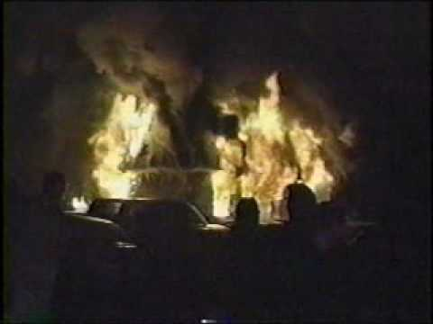 Fatal fire at the concert
