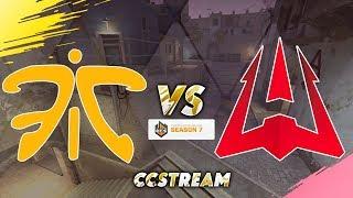🔴(RUS) ECS S7 WEEK 5 | Fnatic vs Avangar (BO 3) | @by SKIDEN
