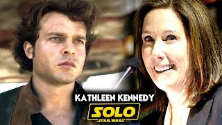 Star Wars! Kathleen Kennedy Changed Han Solo! (Solo A Star Wars Story)
