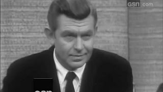 What's My Line? - Andy Griffith; PANEL: Steve Allen, Suzy Knickerbocker (Feb 19, 1967)