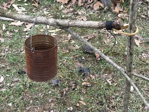 Swing Arm Cook  System from Natural Materials