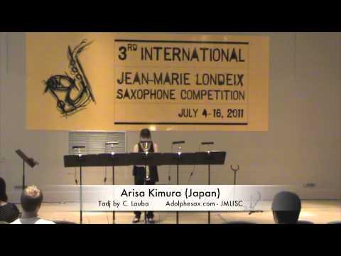 3rd JMLISC: Arisa Kimura (Japan) Tadj by C. Lauba