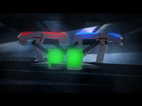 Introducing Laser X - the ultimate high-tech game of tag!