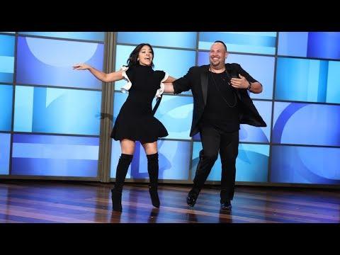 Gina Rodriguez Salsas Her Way onto Ellen