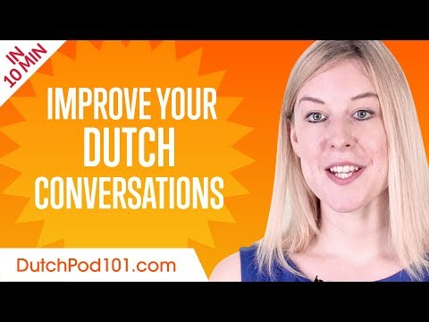 Learn Dutch in 10 Minutes - Improve your Dutch Conversation Skills photo