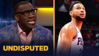 It's time we reevaluate our expectations of Ben Simmons — Shannon Sharpe   NBA   UNDISPUTED