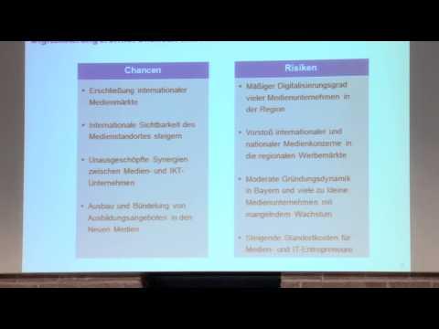 Vortrag: Thomas Hess über Perspektiven des Medienstandorts Bayern
