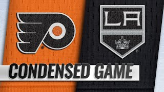 11/01/18 Condensed Game: Flyers @ Kings