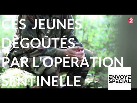Nouvel Ordre Mondial - Envoyé spécial. Ces jeunes dégoûtés par l'opération sentinelle - 16 novembre 2017 (France 2)