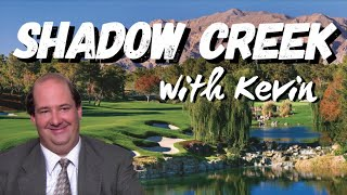 Playing Golf with Kevin from The Office | Shadow Creek Part 1 - YouTube