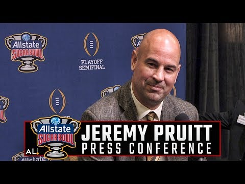 Jeremy Pruitt addresses the media ahead of Alabama's Sugar Bowl matchup with Clemson