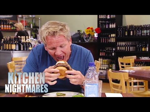 39 thin crust pizza 39 actually has massive crusts kitchen for Kitchen nightmares burger kitchen