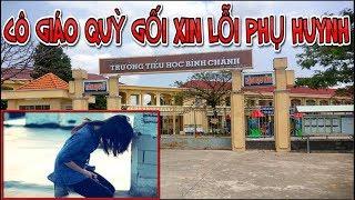 Bộ trưởng Phùng Xuân Nhạ yêu cầu báo cáo vụ Cô giáo quỳ gối xin lỗi phụ huynh - News Tube