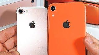 iPhone 7 vs iPhone XR