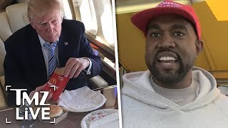 Kanye's Going To Lunch With Trump At The White House | TMZ Live