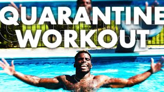 Sunday quarantine workout with Tyreek Hill and Family Episode 1
