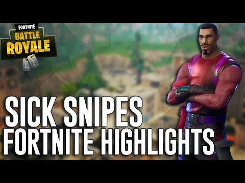 Sick Snipes!! - Fortnite Battle Royale Highlights - Ninja
