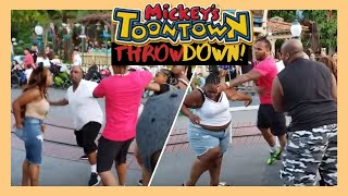 👊🤦 Disneyland Fight Reaction 🤜 Analysis of the Toon Town Brawl 🤛