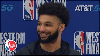 Jamal Murray reacts to Nuggets' Game 3 win over Lakers | 2020 NBA Playoffs