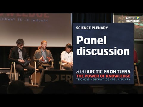 Science plenary - panel discussion