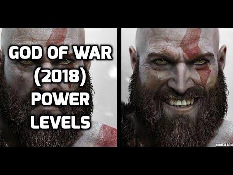 God of War 4 Power Levels