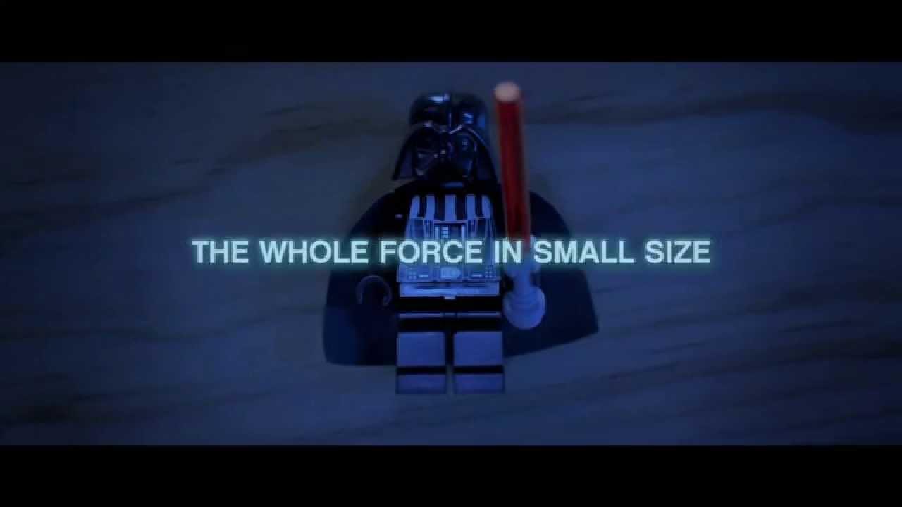 Publicité LEGO Star Wars – toute la force en miniature