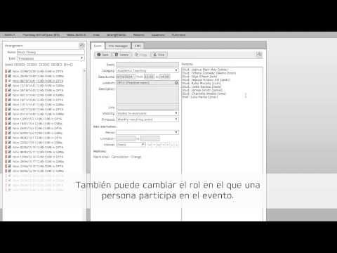 ASIMUT - Editar actividades y eventos
