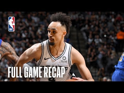 NUGGETS vs SPURS | Derrick White?s HUGE 1st Half Sparks San Antonio | Game 3