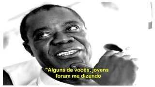 Louis Armstrong - What a Wonderful World - legendado
