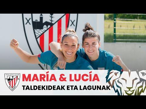 Lucía García & María Díaz, en buena sintonía I Entrevista Athletic Club femenino
