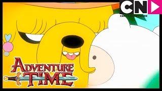 Adventure Time | Jake's Parents find Finn (clip) | Cartoon Network