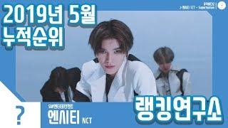 [랭킹연구소] 2019년 5월 보이그룹 누적순위 (남자아이돌 랭킹)   K-POP IDOL Boy Group Chart (May Brand Total)
