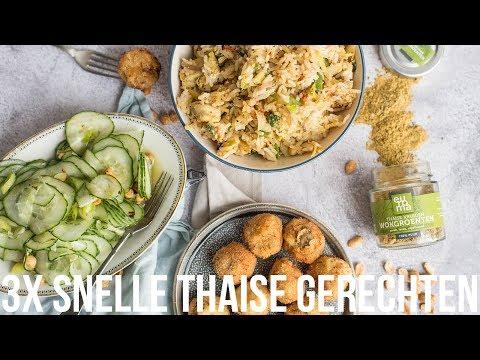 3x snelle Thaise gerechten | OhMyFoodness