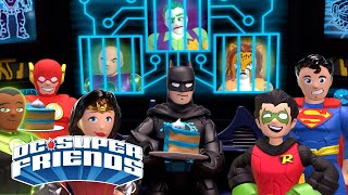 DC Super Friends - Batman Day Party| NEW! | Cartoons For Kids | Kid Commentary | Imaginext® 