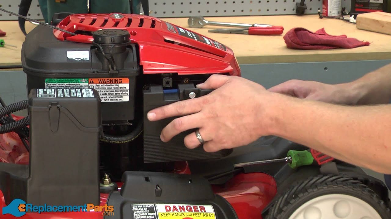How To Replace The Air Filter On A Troy Bilt Tb280es Lawn