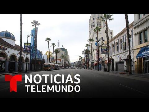 La ciudad de Los Ángeles, al borde del confinamiento total | Noticias Telemundo