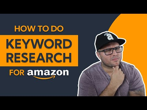 How To Do Keyword Research For Amazon ( Print On Demand Amazon Merch & KDP Low Content)