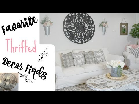 Favorite Thrifted Home Decor Finds | Farmhouse Decor | Momma From Scratch