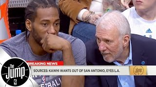 Kawhi Leonard wants to leave Spurs, has Lakers as preferred trade destination | The Jump | ESPN