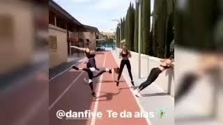 Cristiano ronaldo instagram grabando a georgina rodríguez