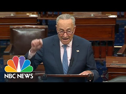 Schumer: McConnell Has 'No Right' To Fill Ginsburg's Seat Before Election | NBC News NOW