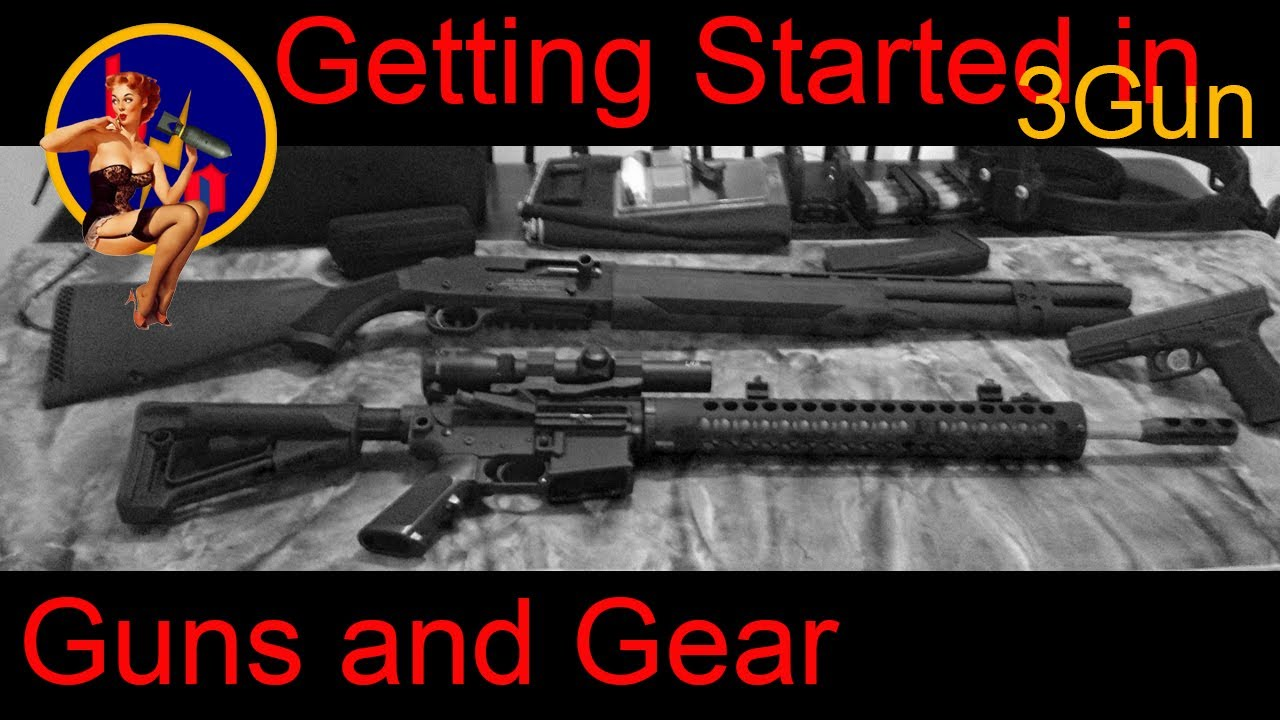Getting Started In 3 Gun 3 Gun Gear What Do I Need For 3
