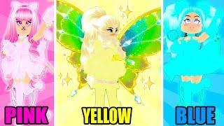 I Tried The ONE COLOR OUTFIT CHALLENGE In Royale High... Roblox Royale High One Color Challenge
