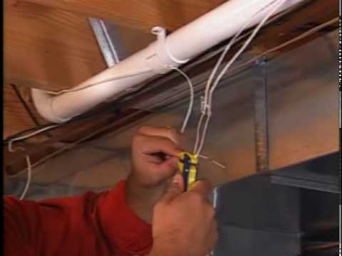 install a central vacuum system (step 6) - youtube wiring a generator through a glass with a furnace fuse