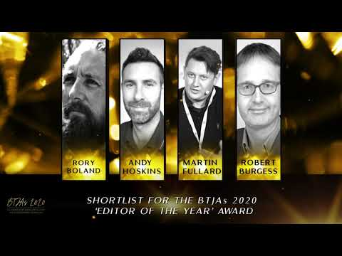 BTJAs 2020 Editor of the Year