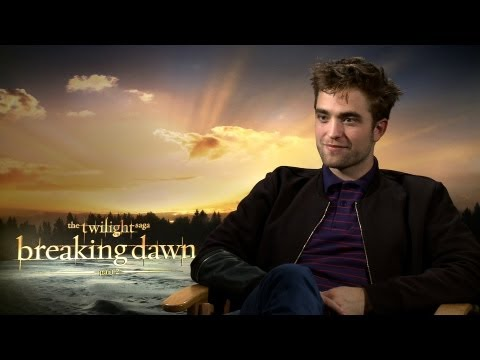 'Breaking Dawn 2' Robert Pattinson Interview